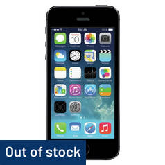 SIM Free iPhone 5S 16GB Refurbished Mobile Phone - Grey