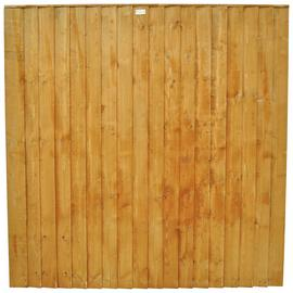 Forest 6ft (1.85m) Featheredge Fence Panel - Pack of 4