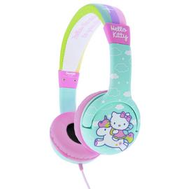 Hello Kitty Kids On-Ear Headphones - Blue / Pink