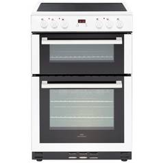 New World 60EDOMC Double Electric Cooker - White