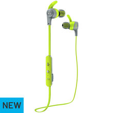 Monster iSport Achieve Wireless In-Ear Headphones - Green