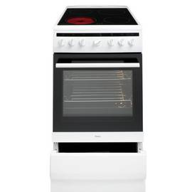 Amica 508CE2MSW 50cm Single Oven Electric Cooker - White