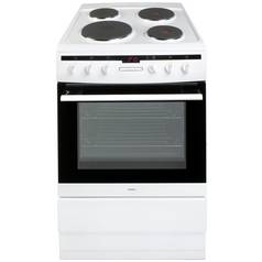 Amica 608EE2TAW Single Electric Cooker - White