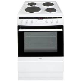 Amica 608EE2TAW 60cm Single Oven Electric Cooker - White