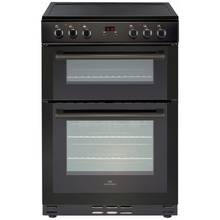 New World 60EDOMC Double Electric Cooker - Black
