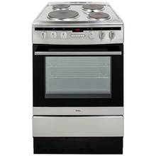 Amica 608EE2TAX Single Electric Cooker - Stainless Steel Best Price, Cheapest Prices