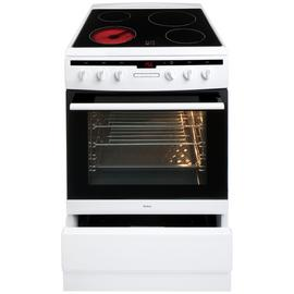 Amica 608CE2TAW 60cm Single Oven Electric Cooker - White Best Price, Cheapest Prices