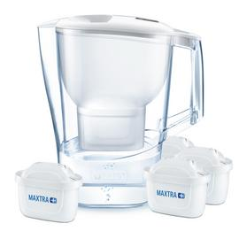 Brita Aluna X-Large Jug with 4 Filter Cartridges - White