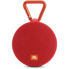 JBL Clip 2 Waterproof Portable Wireless Speaker - Red