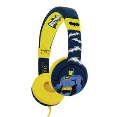 Batman Kids On-Ear Headphones - Yellow / Blue