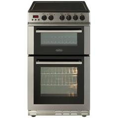 Belling FS50EDOPC Double Electric Cooker - S/ Steel