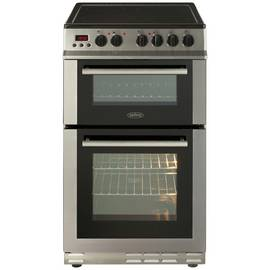 Belling FS50EDOPC 50cm Double Oven Electric Cooker - S/Steel