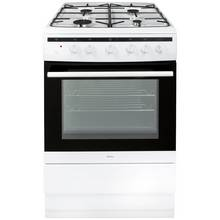 Amica 608GG5MSW Dual Fuel Cooker - White