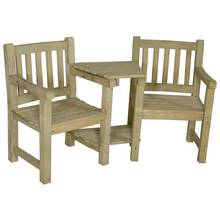 Forest Harvington Wooden Duo Love Seat
