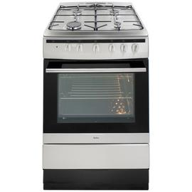 Amica 608GG5MSXX 60cm Single Oven Dual Fuel Cooker - S/Steel