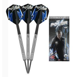 Phil Taylor 23g 80% Tungsten Darts.