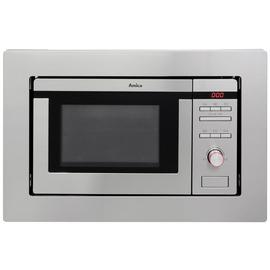 Amica AMM20G1BI 800W Built In Microwave - Stainless Steel.