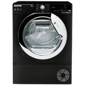 Hoover DXC 8TCEB 8KG Condenser Tumble Dryer - Black