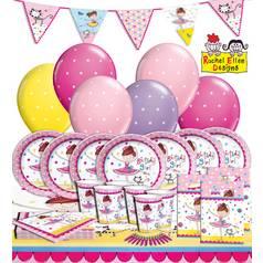 Rachel Ellen Ballerina Party Kit