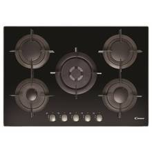 Candy CVG75SWPNX Gas Hob - Black