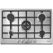 Candy CPG75SWPX Gas Hob - Stainless Steel