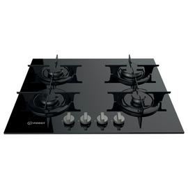 Indesit PR642IBK Gas Hob - Black