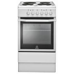 Indesit I5ESHW Single Electric Cooker - White