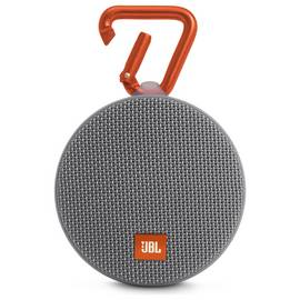 JBL Clip 2 Waterproof Portable Speaker - Grey