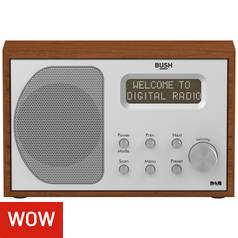 Bush Wooden DAB Radio