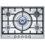 more details on Bosch PCQ715B90E 70cm Gas Hob - Stainless Steel.