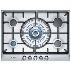 Bosch PCQ715B90E 70cm Gas Hob - Stainless Steel