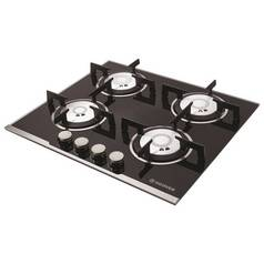 Hoover HGV64SXVB Gas Hob - Black