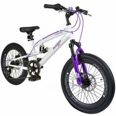 Muddyfox Hawaii 20 Inch Dual Suspension Girls Bike