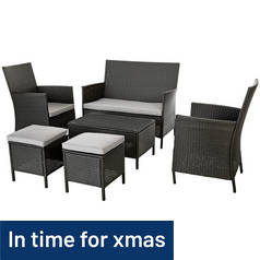 Argos Home New High Back 6 Seater Sofa Set