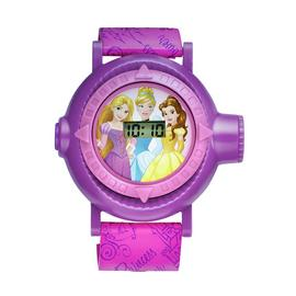 Disney Princess Children's Pink Silicone Strap Watch