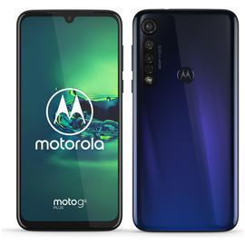 SIM Free Moto G8 Plus 64GB Mobile Phone - Blue