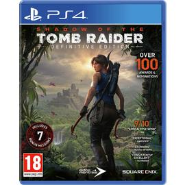 Shadow of the Tomb Raider: Definitive Edition PS4 Game