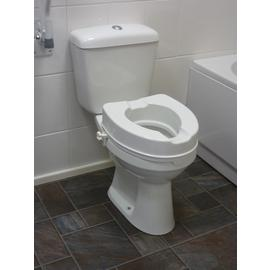 4 Inch Raised Toilet Seat without Lid