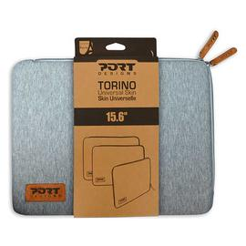 Port Designs Torino 15.6 Inch Laptop Sleeve - Grey