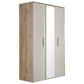 Victoria 3 Door Mirrored Wardrobe