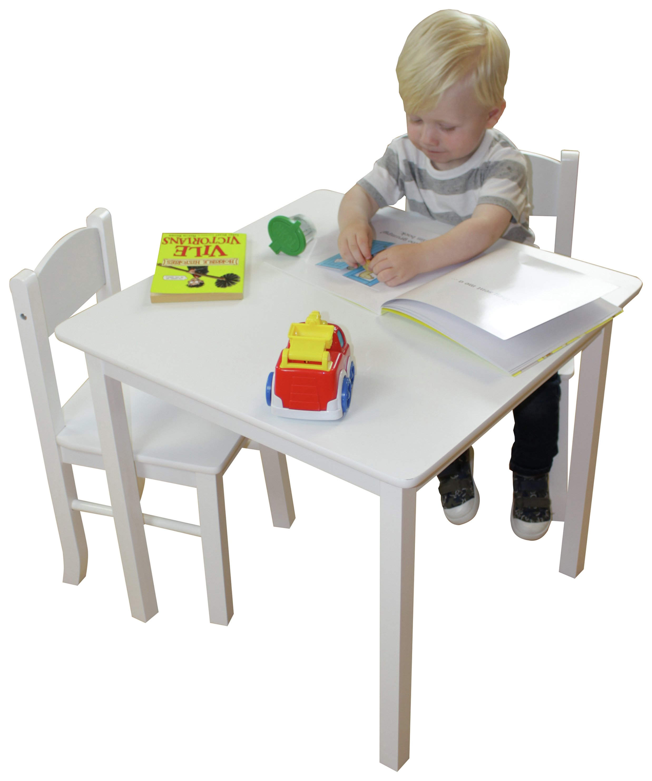 Liberty House Wooden Table and 2 Chair Set  sc 1 st  Argos & Children\u0027s tables and chairs   Furniture for kids   Argos