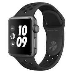 Apple Watch Nike+ GPS 42mm SG Alu Case/Anthracite/Black Band