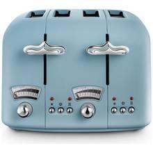 De'Longhi CTO4 Argento Flora 4 Slice Toaster - Blue
