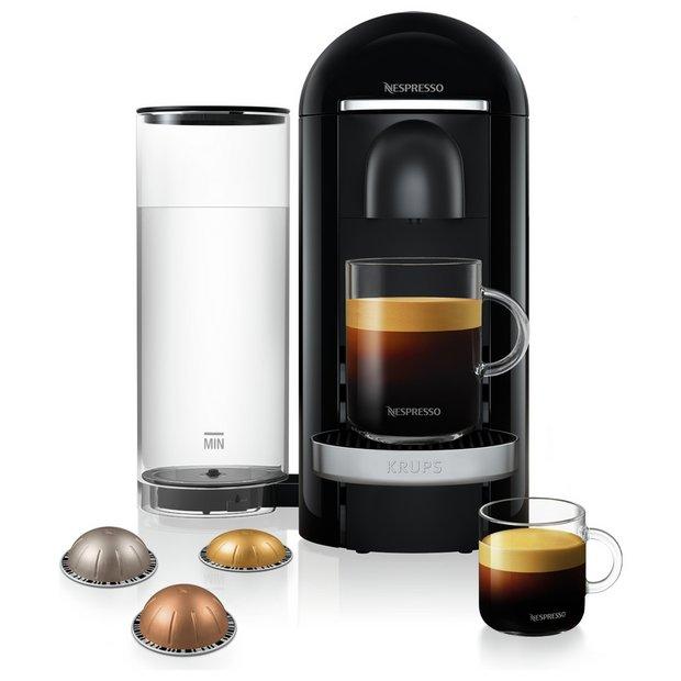 Buy Nespresso By Krups Vertuo Pod Coffee Machine Black Coffee Machines Argos