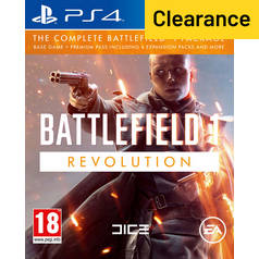 Battlefield 1 Revolution PS4 Game