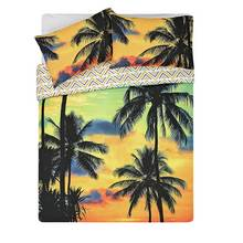 HOME Sunset Palms Bedding Set - Double