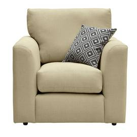 Argos Home Cora Fabric Armchair - Mink