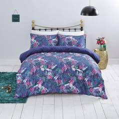 Sainsbury's Home Floral Butterfly Bedding Set - Single