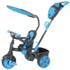 Little Tikes 4-in-1 Deluxe Trike - Neon Blue