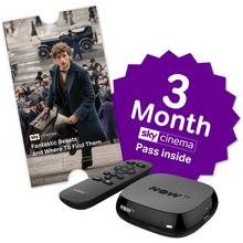 NOW TV Box with 3 Month Sky Cinema Pass